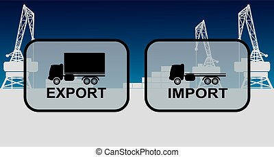 Export import signs