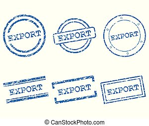 Export stamps