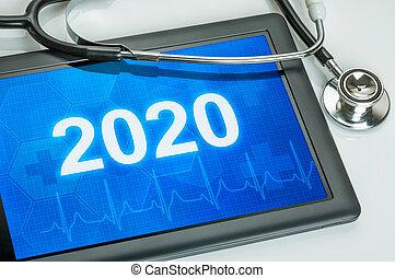exposer, nombre, tablette, 2020