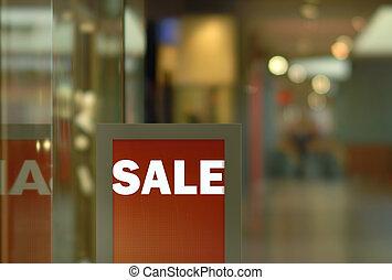 exposição, (horizontal), venda
