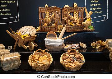 exposição, pão