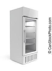 exposição, refrigerador
