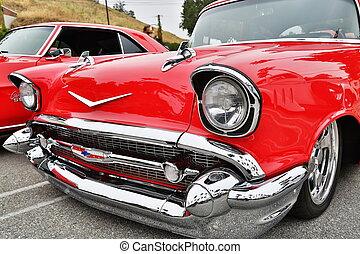 exposition, voiture, voitures classiques
