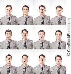 expressões, um, dúzia