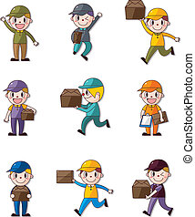 Express delivery people