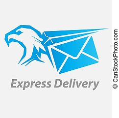 Express, fast delivery icon