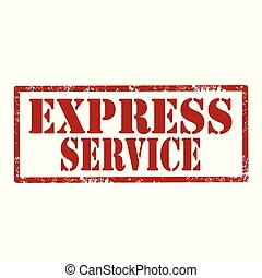 Express Service-stamp