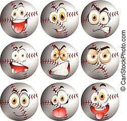 expression, base-ball, facial