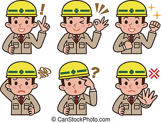 Expression of workers