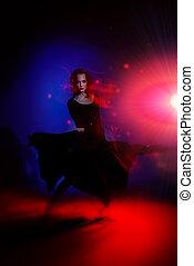 expressive dancer