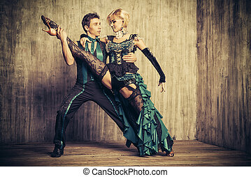 expressive dancers