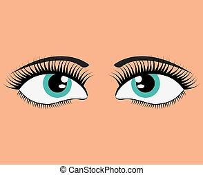 Expressive eyes design
