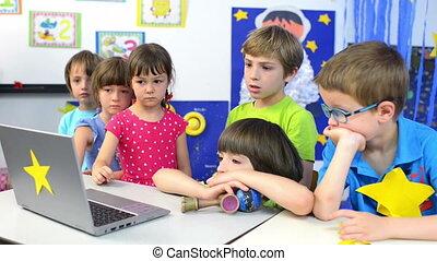 Expressive Kids at Kindergarten