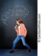 expressive singer