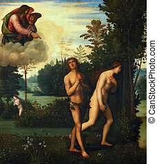 Expulsion of Adam and Eve from paradise