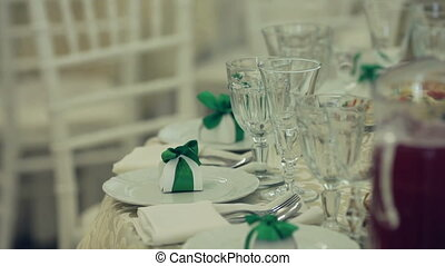 Exquisite banquet with plurality of delicious dishes