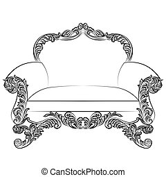 Imperial Baroque armchair