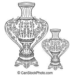 Exquisite Fabulous Imperial Baroque vase decor