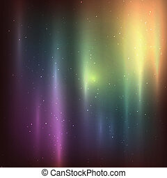 extérieur, étoiles, espace, étoilé, profond, nebulas, fond
