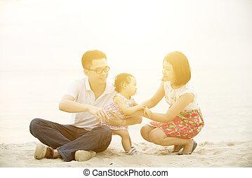 extérieur, activité famille