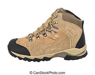 extérieur, chaussure, randonnée