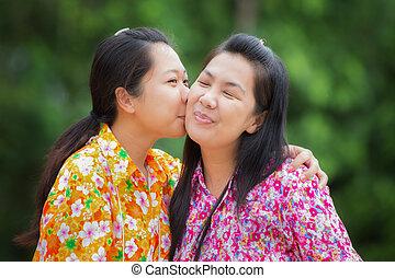 asiatique baisers Dating international