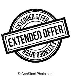 Extended Offer rubber stamp