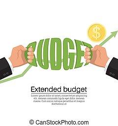 extendido, presupuesto