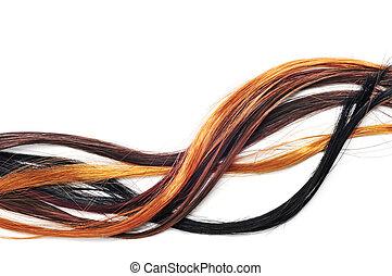 extensões cabelo