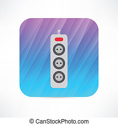 extension cord icon