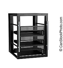 extenso, configuración, servidor