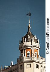 Exterior dome of a building