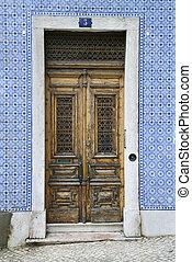 exterior, doors.