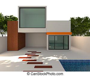 exterior home