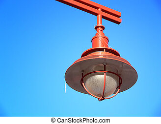 Exterior Light Fixture - Exterior light fixture, painted ...
