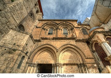 Exterior of Church of the Holy Sepulchre