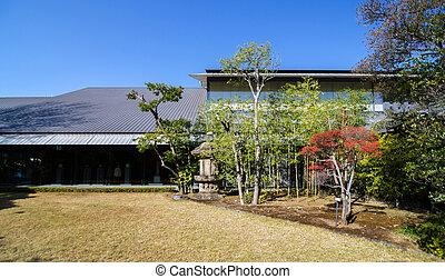 Nezu Museum with Japanese Garden, Tokyo, Japan