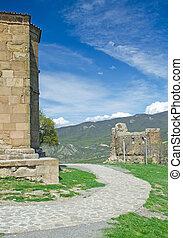 Exterior of ruins