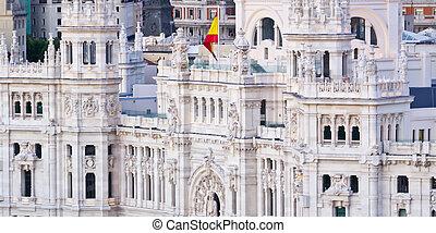 Cibeles palace, Madrid, Spain.
