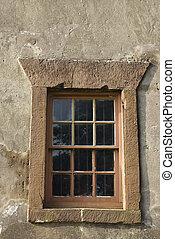 Exterior view of window.