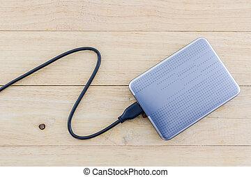 External hard drive for backup. - External hard drive for...