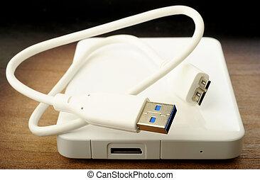 hard drive  - External hard drive for backup