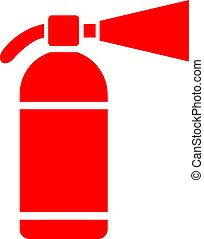 Extinguisher vector icon