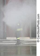 extinguishes, firefighter, ild