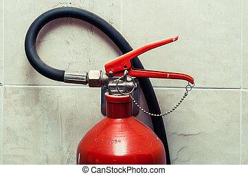 extintor, gatilho