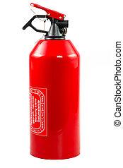 extintor, portátil, plombed