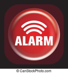 extintores, alarma, botón