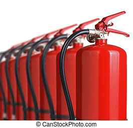 extintores fogo