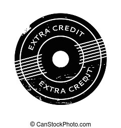 Extra Credit rubber stamp