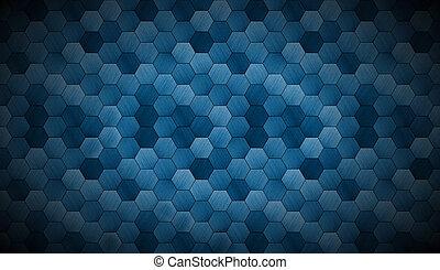 extra, cyanotype, donker, tiled, achtergrond, schijnwerper